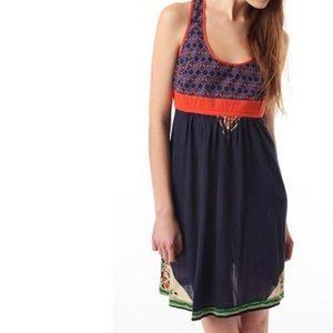 Ecoté Urban Outfitters Boho Sleeveless Dress